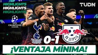 Highlights | Tottenham 0 - 1 Leipzig | Champions League - 8vos de Final | TUDN