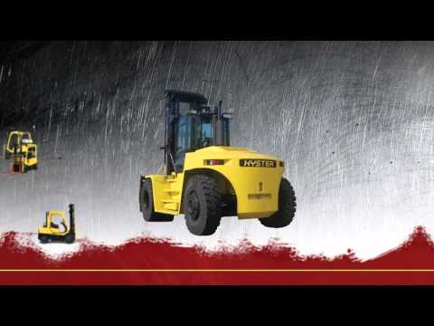 Hyster Big Forklift Trucks
