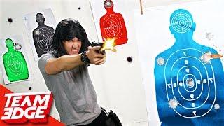 Can you Shoot Like John Wick? | 1 vs 2 Challenge!!