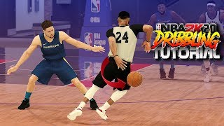 NBA 2K20 Dribble Tutorial #2 - Momentum Spins, Double Behind The Back & More