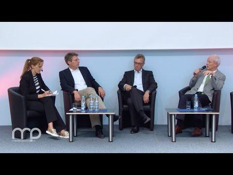 Diskussion: Medien-Startups in Bayern - wie Innovationen hier entstehen