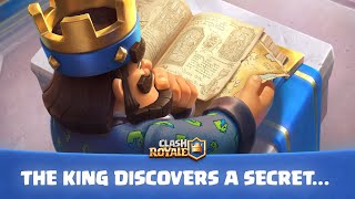 Clash Royale: Update Teaser! The King Discovers a Secret...