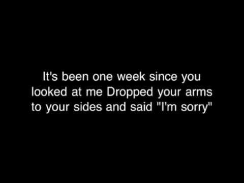 bare naked ladies one week lyrics youtube