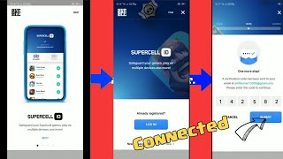 How to connect or login to supercell ID - Clash Royale ||