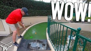 OUR LUCKIEST MINI GOLF HOLE IN ONES AND PUTTS AT DISNEY FANTASIA GARDENS MINI GOLF!