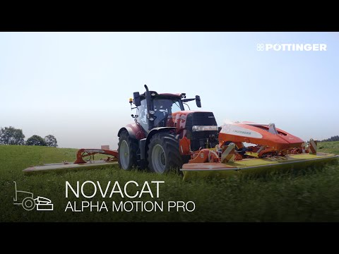 ALPHA MOTION technology: The best forage thanks to perfect ground tracking