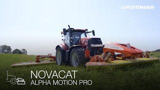 Neu: NOVACAT / EUROCAT ALPHA MOTION PRO Frontmähwerke