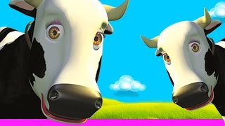 Cow's Songs Mix - The Farm's songs for kids, Children's music - YouTube