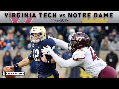 Virginia Tech vs No.16 Notre Dame Breakdown: Book's late TD run helps Irish win | CBS Sports HQ