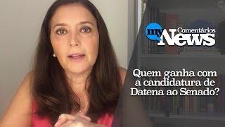 Cristina Serra comenta: quem ganha com a candidatura do Datena?