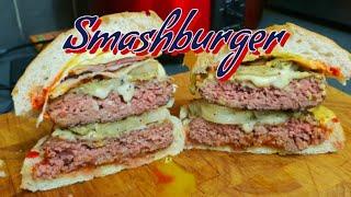 Classic Smashburger Recipe   How to make a Smashburger