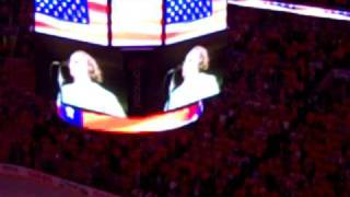 Lauren Hart and Kate Smith Sing God Bless America (5/2/11)