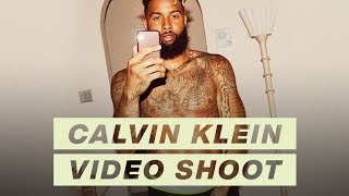 EXCLUSIVE Behind the Scenes of My Calvin Klein Shoot | Odell Beckham Jr. #MyCalvins