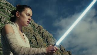 Learn How to Master a 'Star Wars' Lightsaber Like Daisy Ridley! (Exclusive)