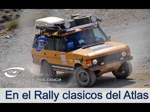Área Oftalmológica Avanzada Patrocina Peuaterra en el rally clasicos del atlas Solidario1