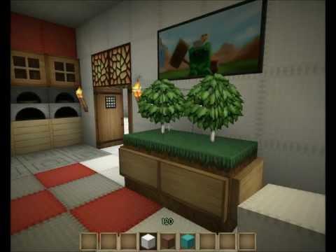 -=Minecraft=- Das Mehrfamilienhaus - Schlafzimmer einrichten