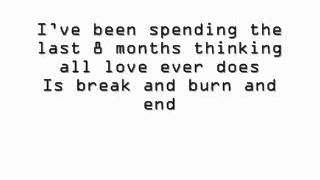 Begin again Taylor Swift lyrics