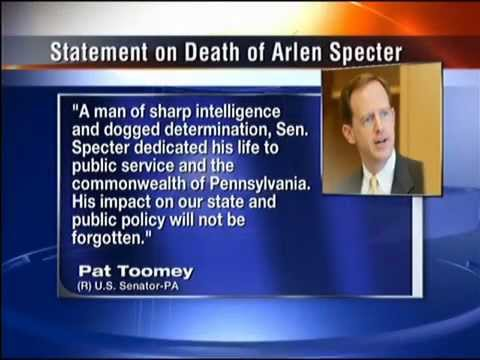 Those who worked with Sen. Specter react to his death
