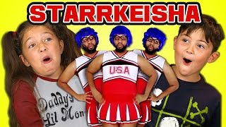 Kids React to Starrkeisha Cheer Squad (Petty Dance Challenge)