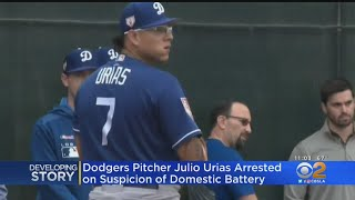 Dodgers Pitcher Julio Urias Arrested For Domestic Battery
