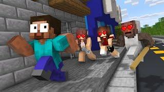 Monster School : HEROBRINE LOVE CURSE CHALLENGE NEW EPISODE - Minecraft Animation
