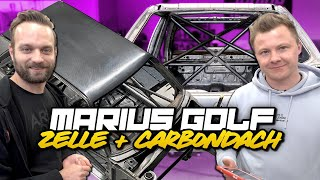 Marius Golf 2 - Krasse Rennsportzelle und leichtes Carbon Dach! | Philipp Kaess |
