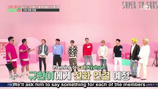 ENG SUB | IDOL ROOM EPISOD 72 | SUPER JUNIOR | CALLING KYUHYUN  part 1