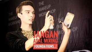 Jangan Asal Mixing Foundations..! By Dean