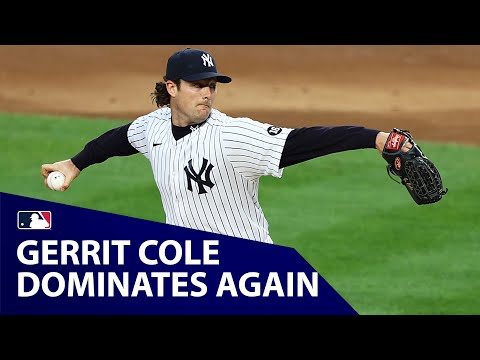 Gerrit Cole DOMINATES again! (Strikes out 12 in 6 scoreless innings)