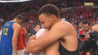 Stephen Curry Shares A Special Moment With Seth Curry After Game 4!