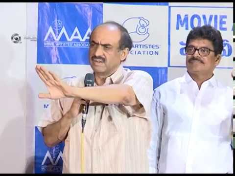 MAA Press Meet | Actors Shivaji Raja, Naresh Reunion