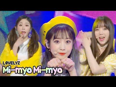 [HOT] Lovelyz -  Mi-myo Mi-myo , 러블리즈 - 미묘미묘해 Show Music core 20180526