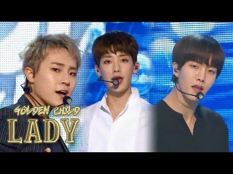 [HOT] GOLDEN CHILD - LADY, 골든차일드 - LADY Show Music core 20180317