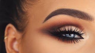 Soft Glam | Smokey Winged Cat Eye Makeup Tutorial
