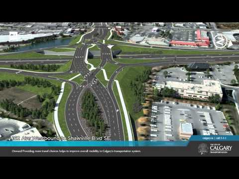 Macleod Trail/162 Avenue S Interchange - Visualization