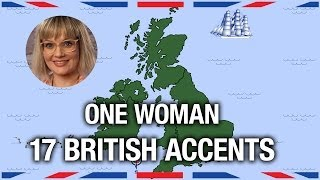 One Woman, 17 British Accents - Anglophenia Ep 5