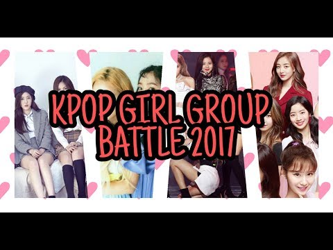 Girl Group Battle 2017 [Red Velvet VS Gfriend VS Twice VS Blackpink]