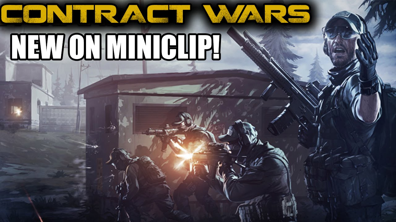 Contract Wars - A free Multiplayer Game