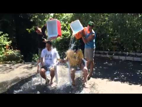 ALS Ice Bucket Challenge - Warren Wong & Simon Mok