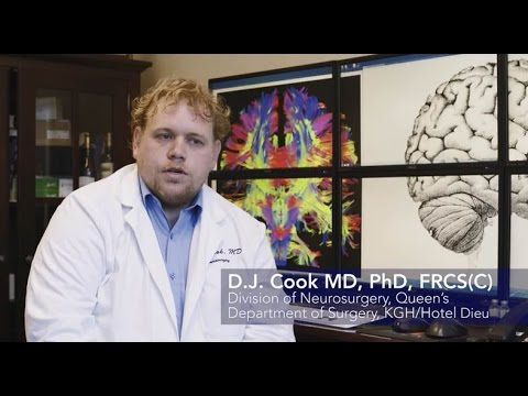 Dr. D.J. Cook, Centre for Neuroscience Studies