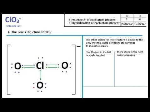 I have a question about ClO2- in regards to resonance ...  |Clo Lewis Structure