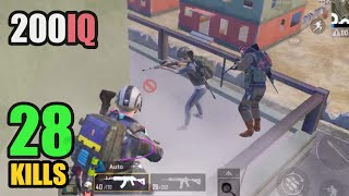 THEY DIDN'T BELIEVE WHAT I DID   28 KILLS SOLO VS SQUAD   PUBG MOBILE