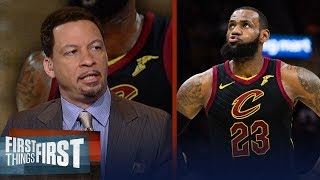 Chris Broussard on reports LeBron doesn't want pitches from teams | NBA | FIRST THINGS FIRST