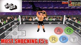 Brock Lesnar's Most Shocking F5's : Top 10 | WR3D