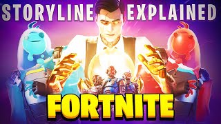 The ENTIRE FORTNITE STORYLINE Explained (Season 1-3)