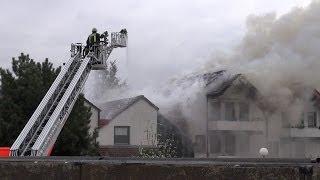 NRWspot.de | Hagen – Brand am Reihenhaus greift über auf Nachbarhaus