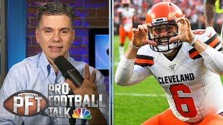 Baker Mayfield, Odell Beckham Jr. put Giants at center of attention | Pro Football Talk | NBC SPorts
