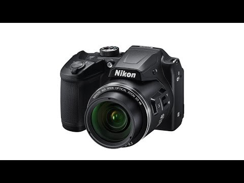 video Nikon Coolpix B500 Kamera schwarz