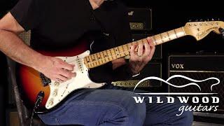 Fender Custom Shop Masterbuilt Jason Smith Wildwood 10 1969 Stratocaster  •  SN: R94068