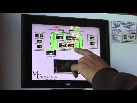 PLC Digital Touch Screen Sterilizer Controller